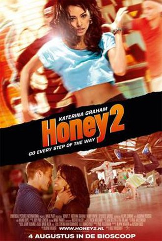 Honey 2 - Dutch theatrical release poster