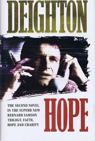 Hope (Deighton novel) - First edition cover  (publ. HarperCollins)