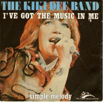 I've Got the Music in Me - Image: I've Got the Music in Me The Kiki Dee Band