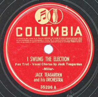 I Swung the Election - Image: I swung election 78 COL 35206A