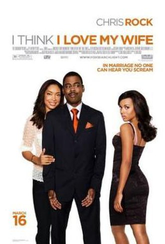 I Think I Love My Wife - Promotional movie poster