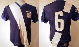Puebla F.C. - Image: Jersey 1970