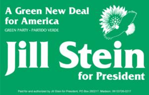 Jill Stein presidential campaign, 2012 - Image: Jill Stein for President logo