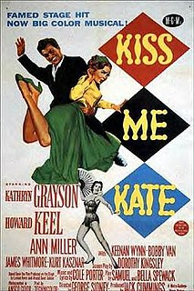 <i>Kiss Me Kate</i> (film) 1953 film directed by George Sidney