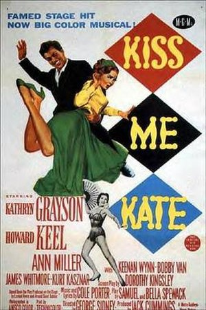 Kiss Me Kate (film) - Theatrical release poster