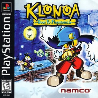 Klonoa: Door to Phantomile - North American PlayStation cover art