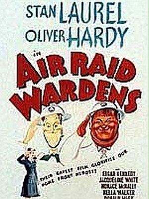 Air Raid Wardens - Theatrical poster for Air Raid Wardens (1943)
