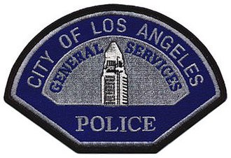 Los Angeles General Services Police - Image: LA General Services Police Patch