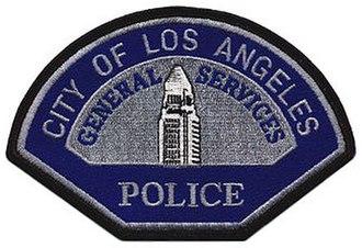 Los Angeles General Services Police - Image: LA General Services Police Patch