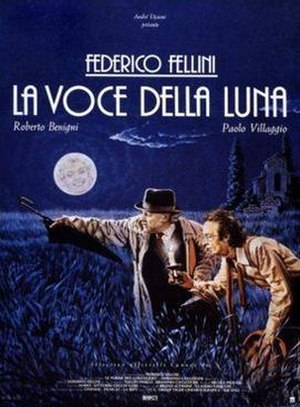 The Voice of the Moon - Italian theatrical release poster