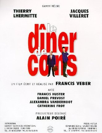 The Dinner Game - Theatrical release poster