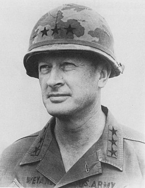 Tet Offensive - Lieutenant General Frederick Weyand, commander of II Field Force, Vietnam