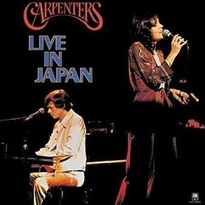 Live in Japan (The Carpenters album) - Image: Live in Japan Carpenters