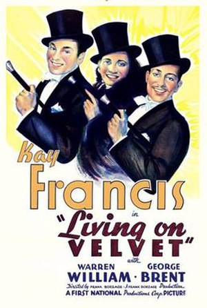 Living on Velvet - theatrical release poster