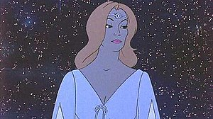 Galadriel - Galadriel in Ralph Bakshi's animated version of The Lord of the Rings.