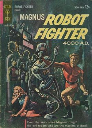 Magnus, Robot Fighter - Image: Magnus Robot Fighter 4000AD no 1