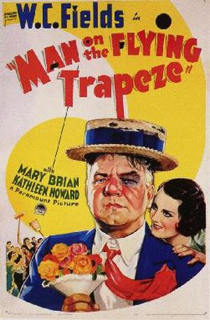 Man on the Flying Trapeze - Theatrical release poster
