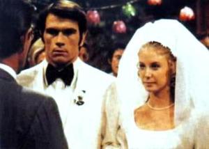 Mark Toland - Mark (Jones) and Julie (Warwick) marry, 1971.