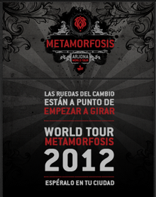 Metamorfosis World Tour Poster.png