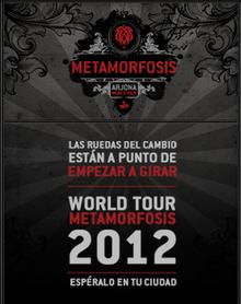 Metamorfosis World Tour Wikipedia
