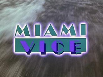 Miami Vice - Title screen