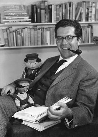 Michael Ende - Ende in 1962 (photo by Christine Meile)