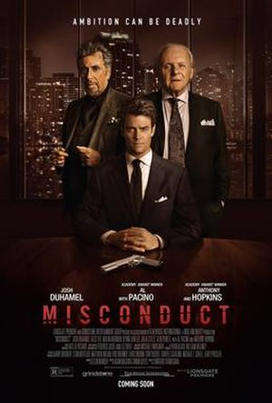 Misconduct (film) - Theatrical release poster