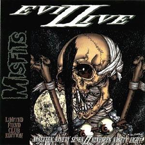 Evillive II - Image: Misfits Evilive II cover