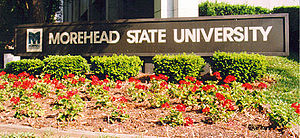 Morehead State University - Morehead State University welcome sign
