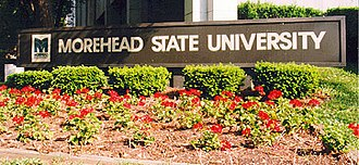 Morehead State University - Welcome sign