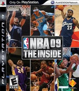 NBA (video game series) - Image: NBA '09 The Inside Coverart