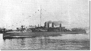 Greek destroyer <i>Nafkratousa</i>