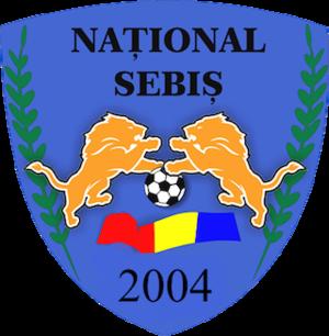 CS Național Sebiș - Image: National Sebis logo