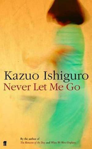 Never Let Me Go (novel) - First-edition cover of the British publication