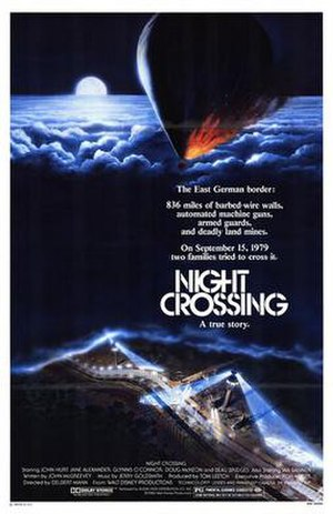 Night Crossing - Theatrical release poster