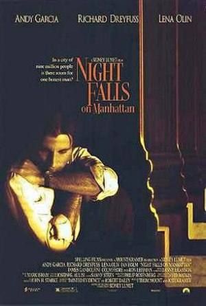 Night Falls on Manhattan - Theatrical release poster
