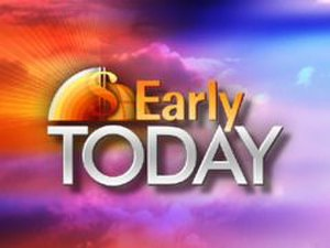 Early Today - The program's logo during its CNBC-produced run.