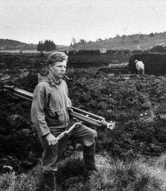 Peter Glob - Glob in a Danish peat field.