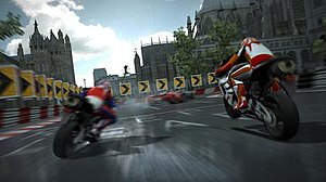 Project Gotham Racing 4 - A screen shot of a race in London