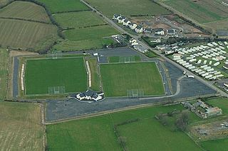 Páirc Mac Uílín Sportsground in Ballycastle, Co. Antrim, Northern Ireland