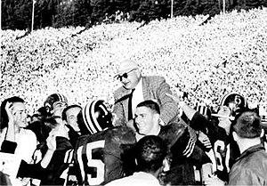 Pappy Waldorf - 1956 Big Game