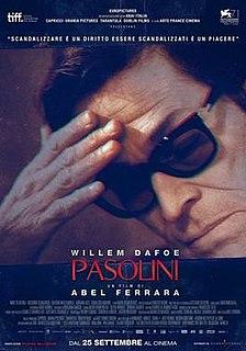 <i>Pasolini</i> (film) 2014 film