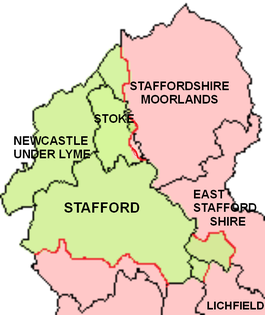 Pirehill Hundred with present district boundaries
