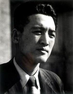Park In-hwan - Portrait of Park Inhwan taken by Lim Eungsik in 1954