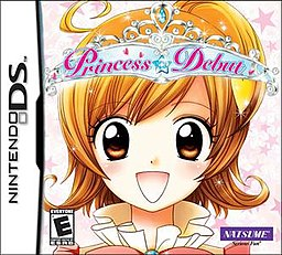 princess debut nintendo ds otome game