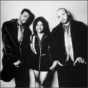 Quad City DJ's - Members of the Quad City DJ's. Left to right, Jay Ski, JeLana LeFleur, and C.C. Lemonhead