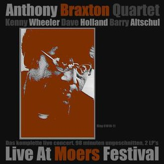 Quartet: Live at Moers Festival - Image: Quartet Live at Moers Festival