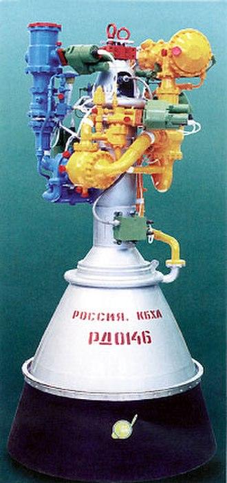 RD-0146 - Model of RD-0146