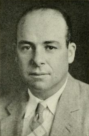 Raymond Wolf - Wolf pictured in Yackety Yack 1938, North Carolina yearbook