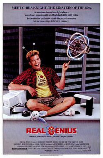 Real Genius - Theatrical release poster